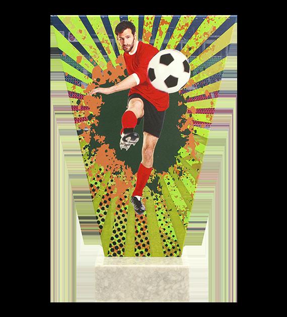 Glastrophäe – Fußball VL2-D/SOC2 4