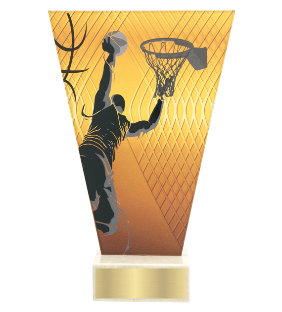 <span>Glass award  – basketball<span style='color:#ff0066; font-weight:800;'> - PRODUCTION UP TO 5 WORKING DAYS</span></span> VL1/BAS 1