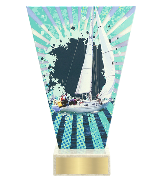 <span>Glass award  – sailing<span style='color:#ff0066; font-weight:800;'> - PRODUCTION UP TO 5 WORKING DAYS</span></span> VL2/SAI 1