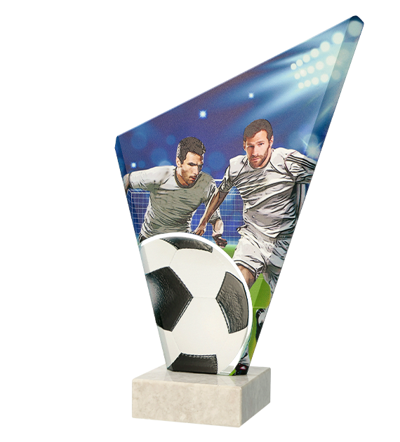 Trofeum szklane - Piłka nożna TG1 SOC 1