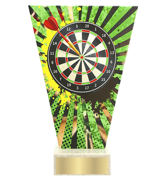 <span>Glass award  – darts<span style='color:#ff0066; font-weight:800;'> - PRODUCTION UP TO 5 WORKING DAYS</span></span> VL2/DAR 1