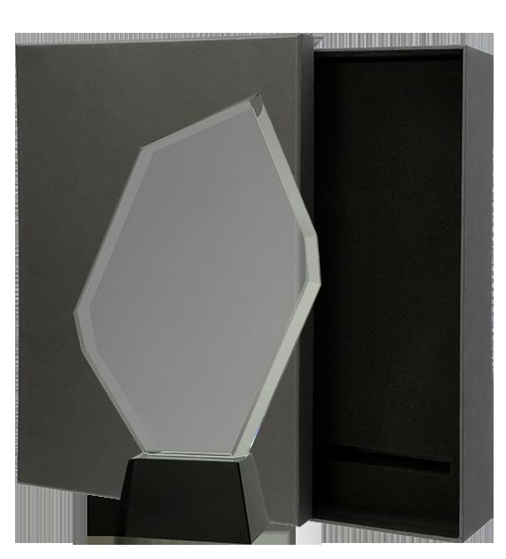 Statuetka szklana z Etui C069 1