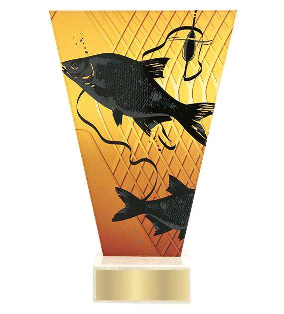 <span>Glass award  – fishing, bream<span style='color:#ff0066; font-weight:800;'> - PRODUCTION UP TO 5 WORKING DAYS</span></span> VL1/FIS1 1