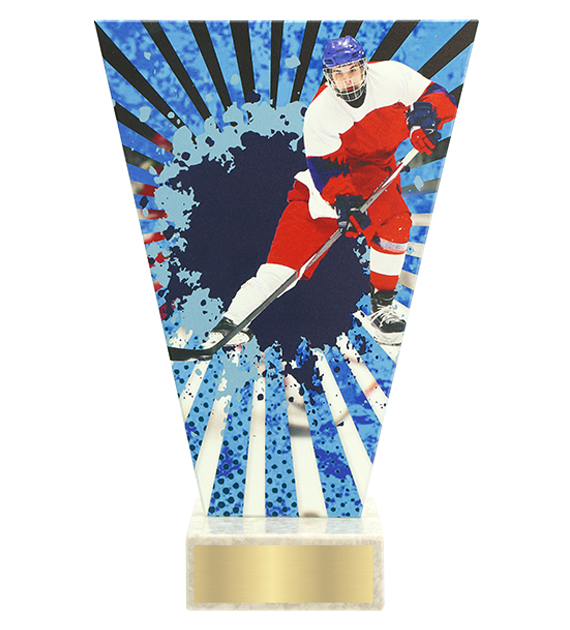 <span>Glass award  – hockey player<span style='color:#ff0066; font-weight:800;'> - PRODUCTION UP TO 5 WORKING DAYS</span></span> VL2/HOC2 1