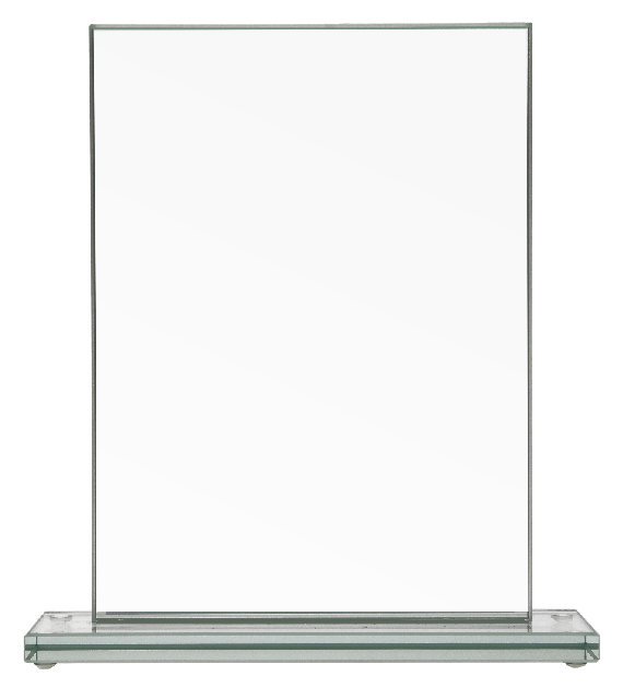Glass trophy 80033 2
