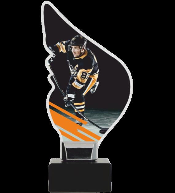 Trophy from plexy on a platform – HOCKEY CP01-M/HOC2 1