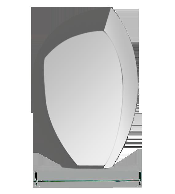 Glass trophy with presentation box G010 2