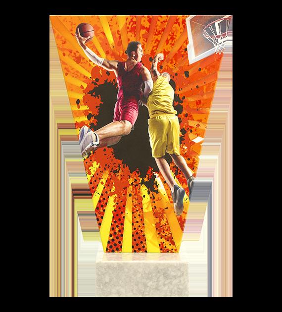 Glastrophäe – Basketball VL2-D/BAS 4