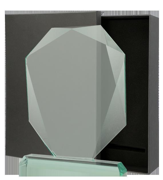Statuetka szklana z Etui G042. 1