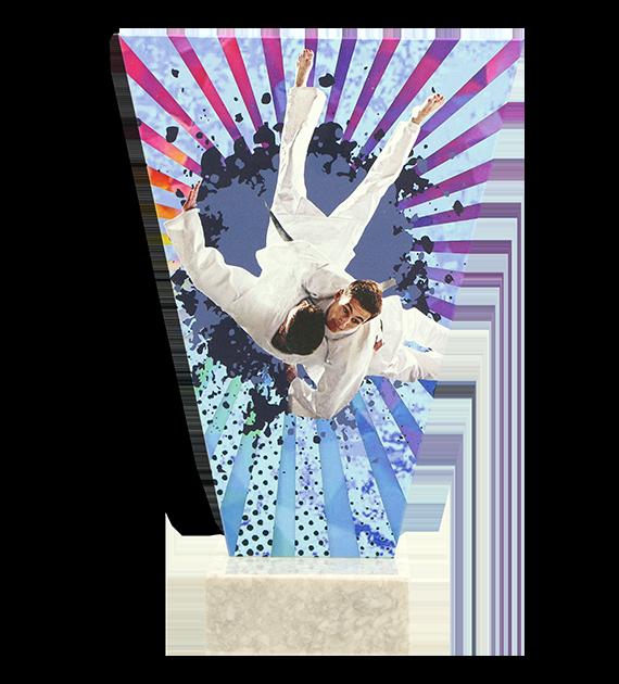 Glastrophäe – Judo VL2-D/JUD 4
