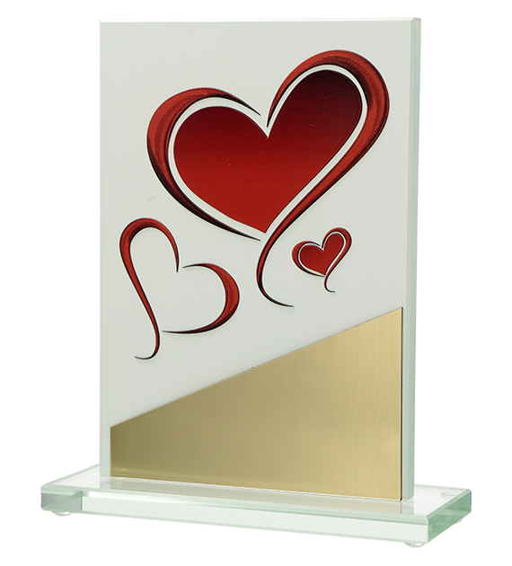 Glass award with 3D effect M82/D7 1
