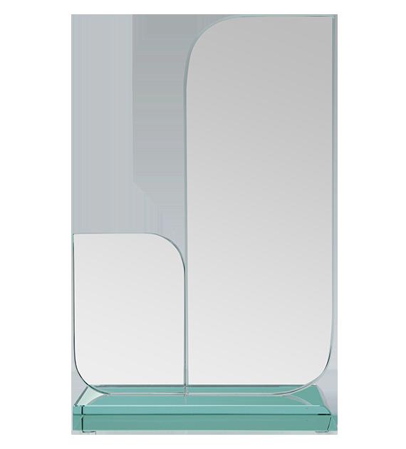 Glass award with presentation box C066 2