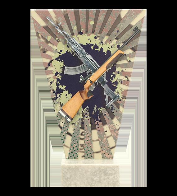 Glastrophäe – Schiesssport langwaffen  VL2-D/SHO2 4