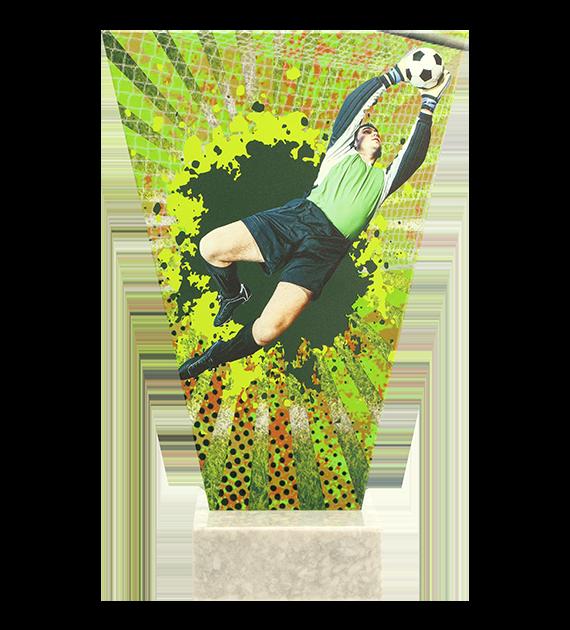 Glastrophäe – Fußball VL2-D/SOC4 4