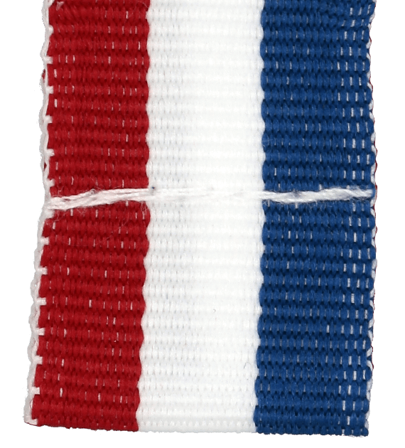 Ribbon 20 mm – red white blue V3-R/W/BL 1