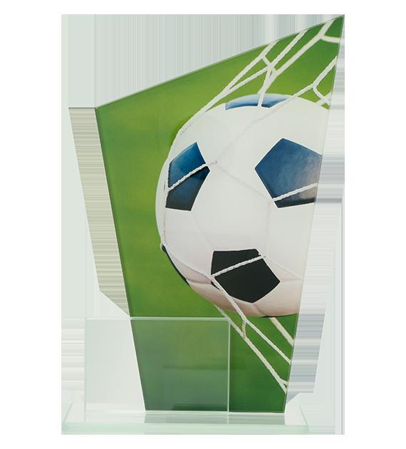 Glastrophäe, zweiGlasscheiben – Fußball DG1-C/SOC 2
