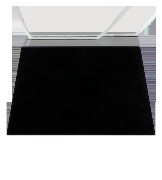 Glastrophäe mit Etui C070 5