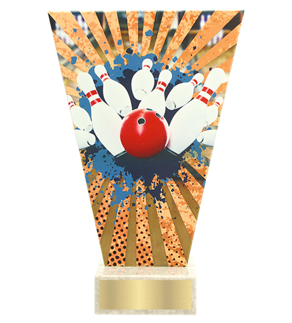 <span>Glass award  – bowling<span style='color:#ff0066; font-weight:800;'> - PRODUCTION UP TO 5 WORKING DAYS</span></span> VL2/BOW 1
