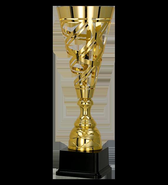 Coppa in metallo oro 1066 1