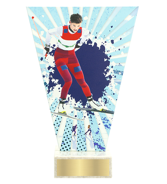 <span>Glass award  – ski running<span style='color:#ff0066; font-weight:800;'> - PRODUCTION UP TO 5 WORKING DAYS</span></span> VL2/SKI1 1
