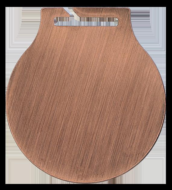 Stahl-Medaillen mit Aufdruck - Allgemein – Braun MC61/B/PL3 5