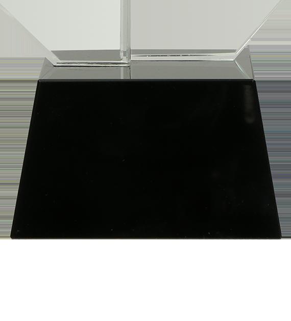 Glastrophäe mit Etui C071 5