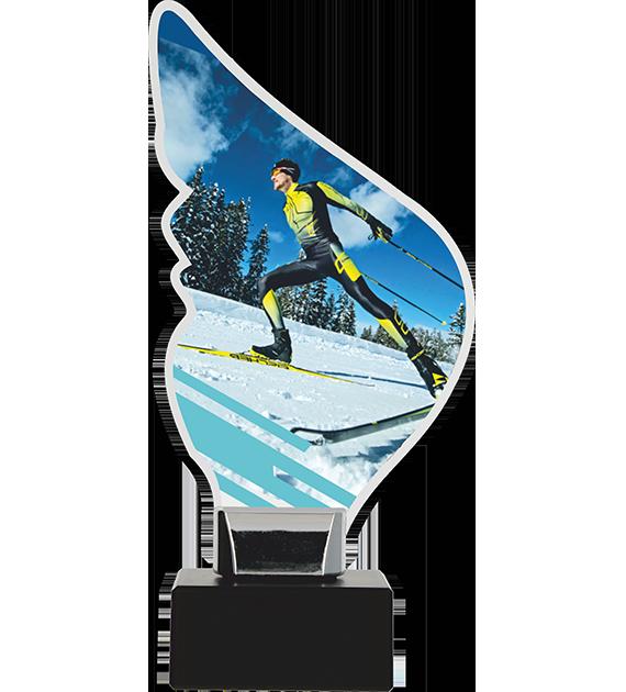 Trophy from plexy on a platform – ski CP01-M/SKI1 1