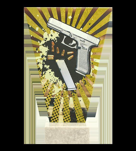 Glastrophäe – Schiesssport kurzwaffen  VL2-D/SHO1 4