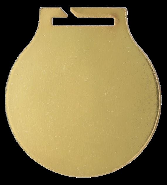 Stahl-Medaillen mit Aufdruck - Schießsport Langwaffen  MC61/G/SHO2 5