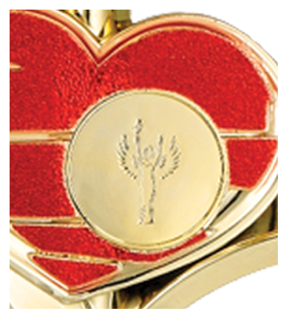 Metall-Pokal Gold – Rot 7240MD 4