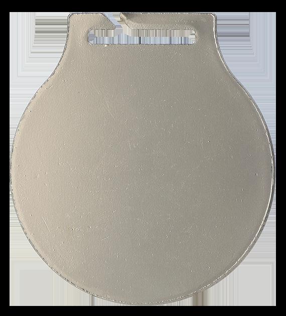 Stahl-Medaillen mit Aufdruck - Allgemein – Silber MC61/S/PL2 5