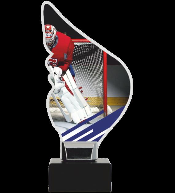 Trophy from plexy on a platform – Hockey CP01-M/HOC1 1