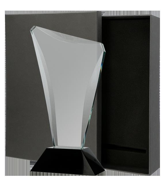 Statuetka szklana z Etui C068 1