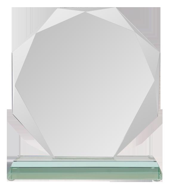 Glass trophy with presentation box G020 2