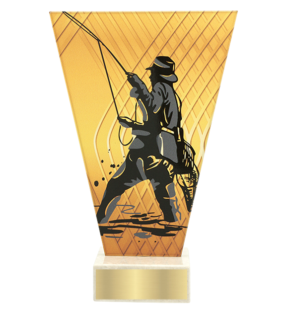 <span>Glass award  – fishing, angler<span style='color:#ff0066; font-weight:800;'> - PRODUCTION UP TO 5 WORKING DAYS</span></span> VL1/FIS5 1