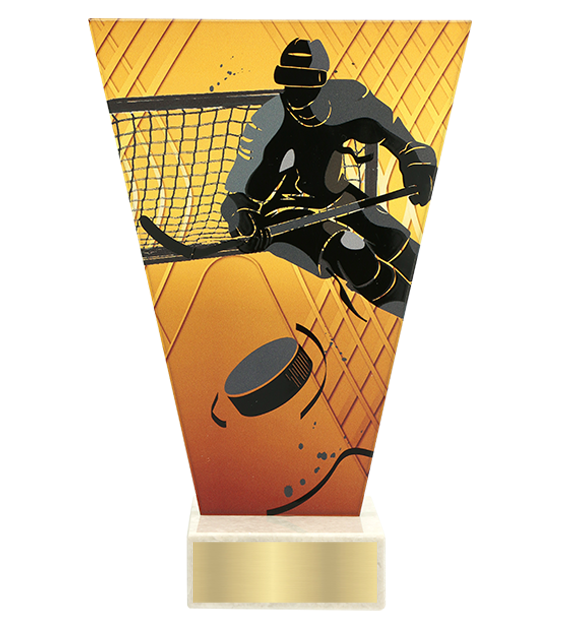 <span>Glass award  – hockey player<span style='color:#ff0066; font-weight:800;'> - PRODUCTION UP TO 5 WORKING DAYS</span></span> VL1/HOC2 1
