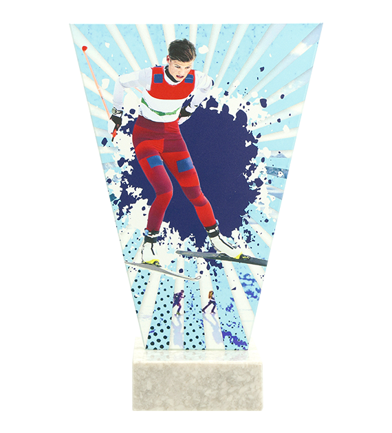 Glastrophäe – Skilaufen VL2-D/SKI1 4