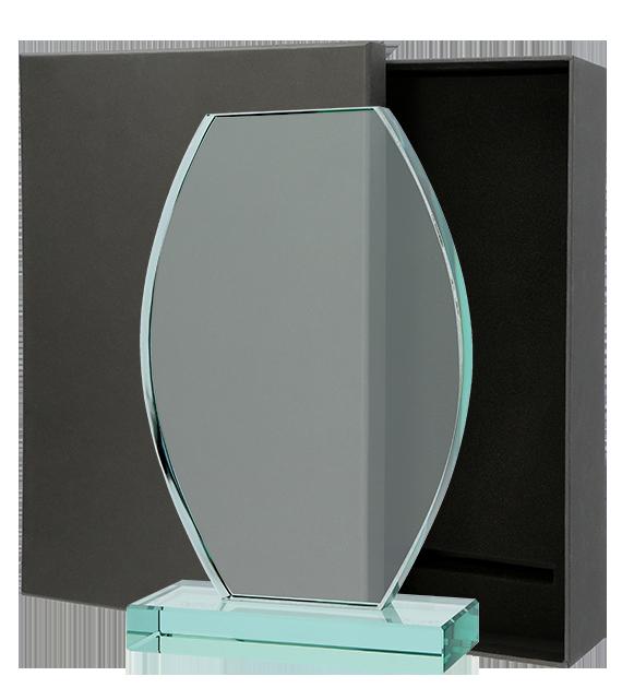 Statuetka szklana z Etui G043 1