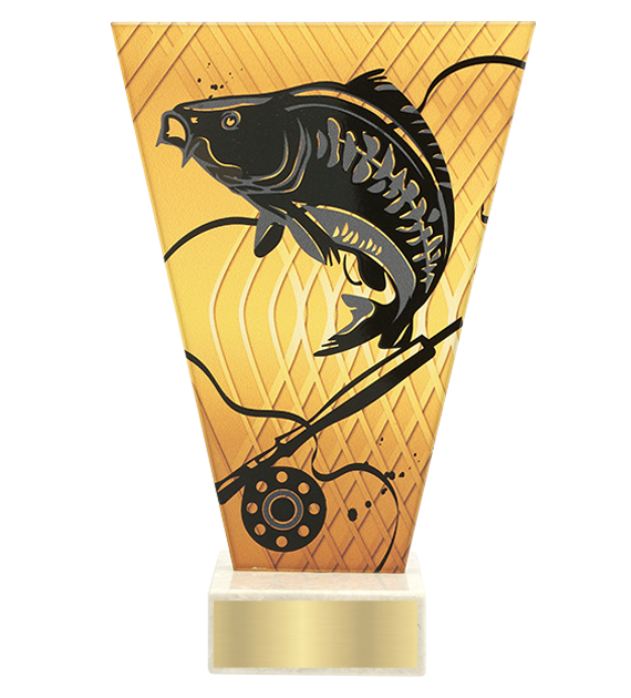 <span>Glass award  – fishing, carp<span style='color:#ff0066; font-weight:800;'> - PRODUCTION UP TO 5 WORKING DAYS</span></span> VL1/FIS2 1