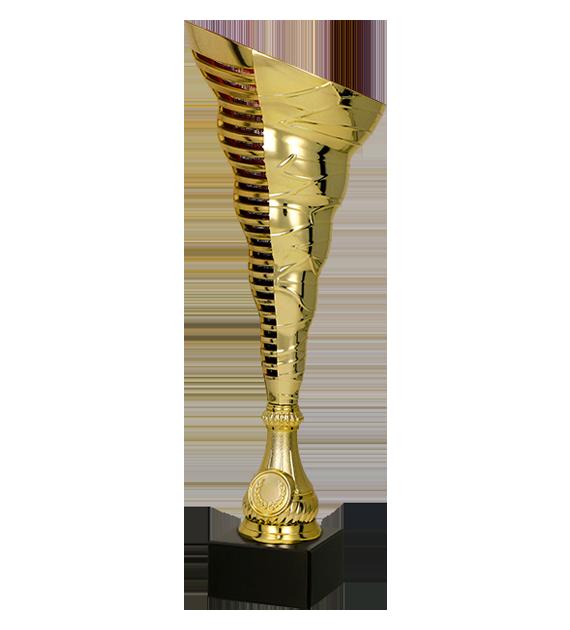 Coppa in plastica oro 7233M 1