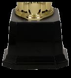 Metall-Pokal Gold/Silber DIUNA 3105A 5