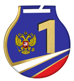Steel medals with a colour print - RUSSIA MC61/G/RU1.1 2