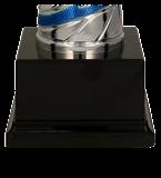 Металлическая чашка серебристо-синяя EMIRAS BL 4205D 5