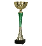 Gold – green metal cup 9254 1