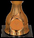 Brown plastic cup WERONA B 9086/B 4