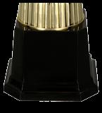 Kunststoff-Pokal Gold – Silber 4140A 5