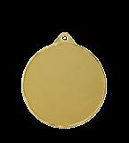 Steel medal football 70 mm, 1st place - gold   MMC3070/G 12