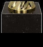 Metall-Pokal Gold/Silber RAJA 8233A 5