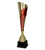 Gold – red metal cup  3151 1