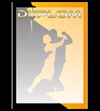 Paper diploma - dancing DYP108 1